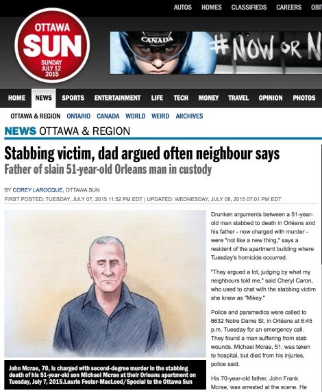 Ottawa Sun Grab Murder